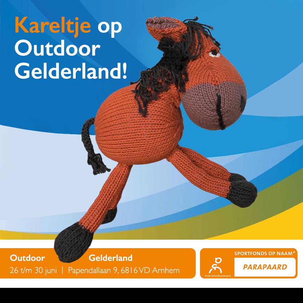 kareltje, parapaard, outdoor gelderland